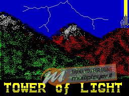 Tower of Light per Sinclair ZX Spectrum