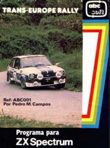 Trans-Europe Rally per Sinclair ZX Spectrum