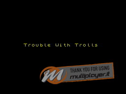 Trouble with Trolls per Sinclair ZX Spectrum