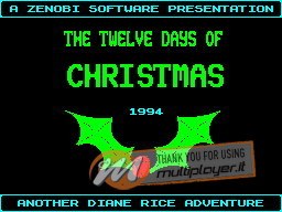 The Twelve Days of Christmas per Sinclair ZX Spectrum