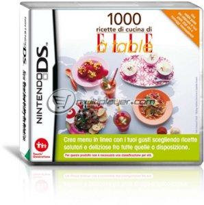 1000 Ricette di Cucina di Elle à Table per Nintendo DS