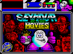 Seymour Goes to Hollywood per Sinclair ZX Spectrum