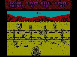 Shoot-Out per Sinclair ZX Spectrum