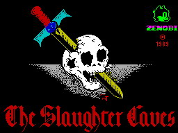 The Slaughter Caves per Sinclair ZX Spectrum