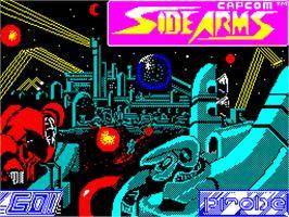 Side Arms Hyper Dyne per Sinclair ZX Spectrum