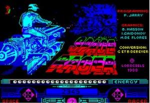 Space Racer per Sinclair ZX Spectrum