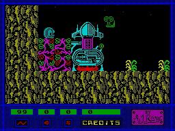 Specimen per Sinclair ZX Spectrum