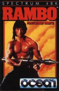 Rambo: First Blood Part II per Sinclair ZX Spectrum