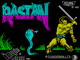 Rastan per Sinclair ZX Spectrum