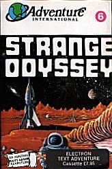 Strange Odyssey per Sinclair ZX Spectrum