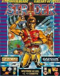 Strider per Sinclair ZX Spectrum