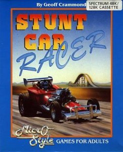 Stunt Car Racer per Sinclair ZX Spectrum