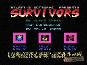 Survivors per Sinclair ZX Spectrum