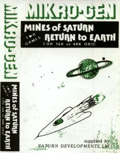 Return to Earth per Sinclair ZX Spectrum