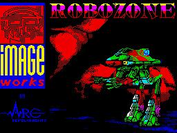 Robozone per Sinclair ZX Spectrum