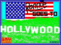 Ronnie goes to Hollywood per Sinclair ZX Spectrum