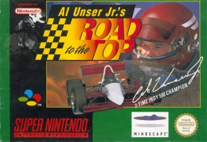 Al Unser Jr's Road to the Top per Super Nintendo Entertainment System
