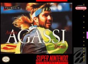 Andre Agassi Tennis per Super Nintendo Entertainment System