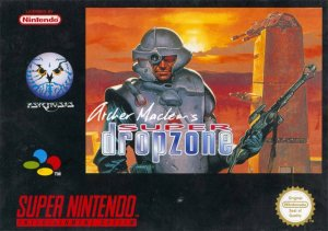 Archer MacLean's Dropzone per Super Nintendo Entertainment System