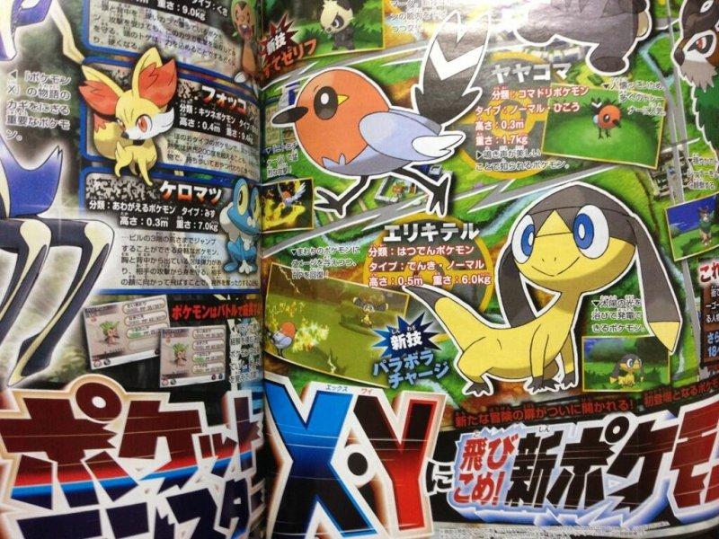 Pokémon X e Y, presentati quattro nuovi personaggi