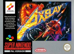 Axelay per Super Nintendo Entertainment System
