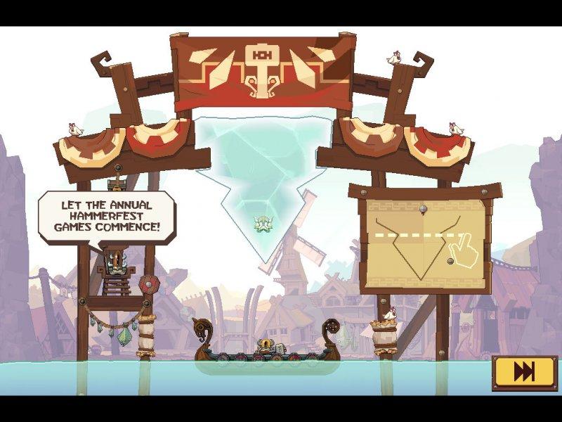 Icebreaker: A Viking Voyage - Il nuovo puzzle game di Nitrome e Rovio per sistemi iOS