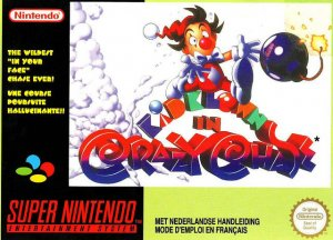 Kid Klown in Crazy Chase per Super Nintendo Entertainment System