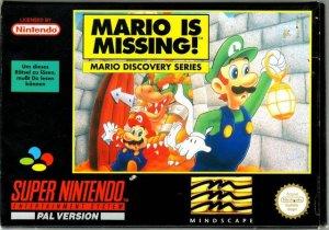 Mario is Missing! per Super Nintendo Entertainment System