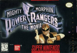 Mighty Morphin Power Rangers: The Movie per Super Nintendo Entertainment System