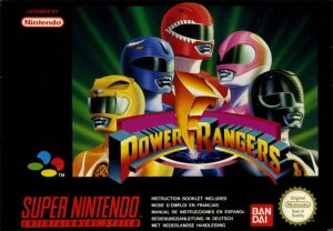 Mighty Morphin Power Rangers per Super Nintendo Entertainment System