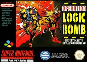 Operation Logic Bomb per Super Nintendo Entertainment System