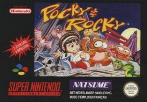 Pocky & Rocky per Super Nintendo Entertainment System