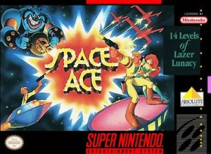 Space Ace per Super Nintendo Entertainment System