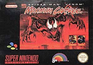 Spiderman & Venom: Maximum Carnage per Super Nintendo Entertainment System