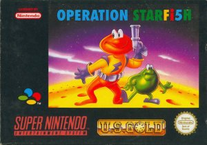 James Pond 3: Operation Starfish per Super Nintendo Entertainment System