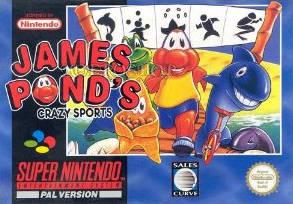James Pond's Crazy Sports per Super Nintendo Entertainment System