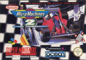 Micro Machines 2: Turbo Tournament per Super Nintendo Entertainment System