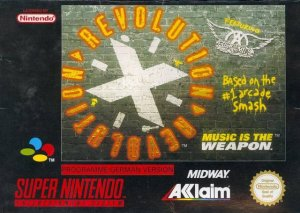 Revolution X per Super Nintendo Entertainment System