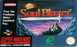 Soul Blazer per Super Nintendo Entertainment System