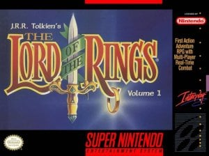 JRR Tolkien's The Lord of the Rings: Volume One per Super Nintendo Entertainment System