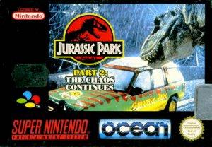 Jurassic Park 2: The Chaos Continues per Super Nintendo Entertainment System