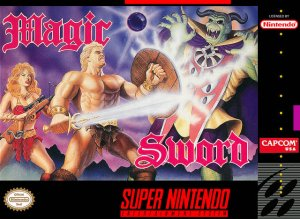 Magic Sword per Super Nintendo Entertainment System