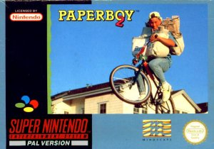Paperboy II per Super Nintendo Entertainment System