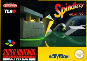 Spindizzy Worlds per Super Nintendo Entertainment System