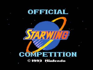 StarWing: Official Competition per Super Nintendo Entertainment System