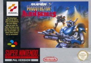 Super Probotector: Alien Rebels per Super Nintendo Entertainment System