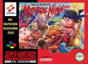 The Legend of the Mystical Ninja per Super Nintendo Entertainment System