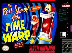 The Ren & Stimpy Show: Time Warp per Super Nintendo Entertainment System