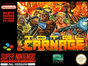 Total Carnage per Super Nintendo Entertainment System