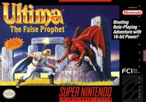 Ultima VI: The False Prophet per Super Nintendo Entertainment System